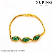 xuping imitation indian gold jewelry top design Malay jade bracelet for women