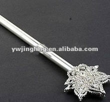 silver rhinestone star pageant crown scepter
