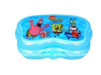 2015 Cheap plastic storage box with interlock lid