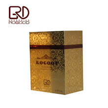 Luxury golden perfume packaging box for essential oil, RGD-P1099
