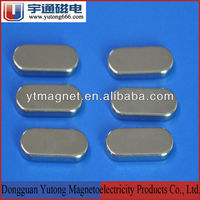 N52 strong high quality Chinese ndfeb oval magnet for sales