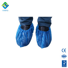 disposable green plastic rain anti-skid medical extra large shoe covers