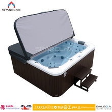 8 person outdoor spa jacuzzy bathtub with 19 inch TV outdoor bathtub