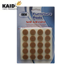 Factory direct sales high quality adhesive furniture felt pad