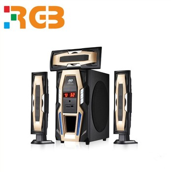 Wholesale Cheap 55W 5.1channel multimedia home theatre speaker system with subwoofer