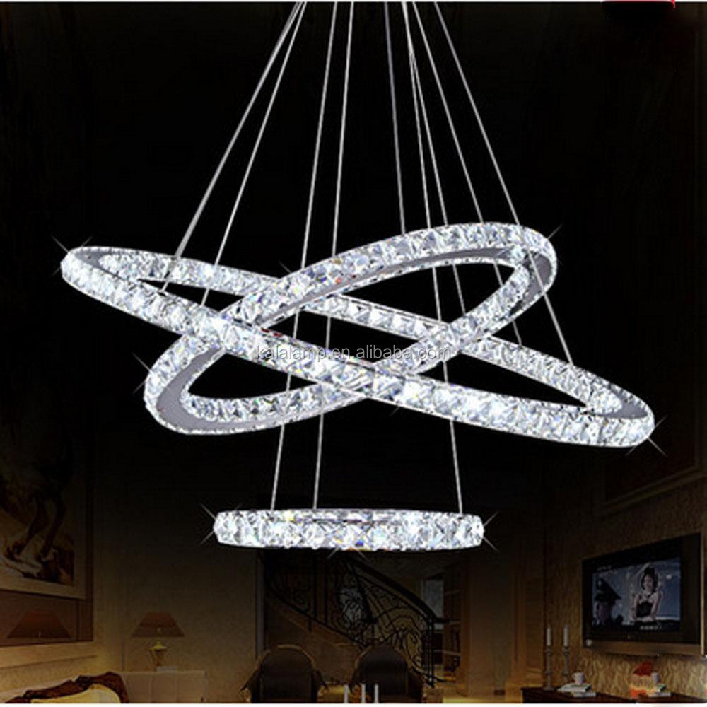 2016 moderne aluminium und acryl led ring kreis pendelleuchte und kronleuchter licht. Black Bedroom Furniture Sets. Home Design Ideas