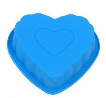 Silicone Cake DIY Love Silicone Cake pan Biscuit Cake Mold Design Jello Pudding
