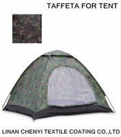 Outdoor tent fabric of Camouflage fabric