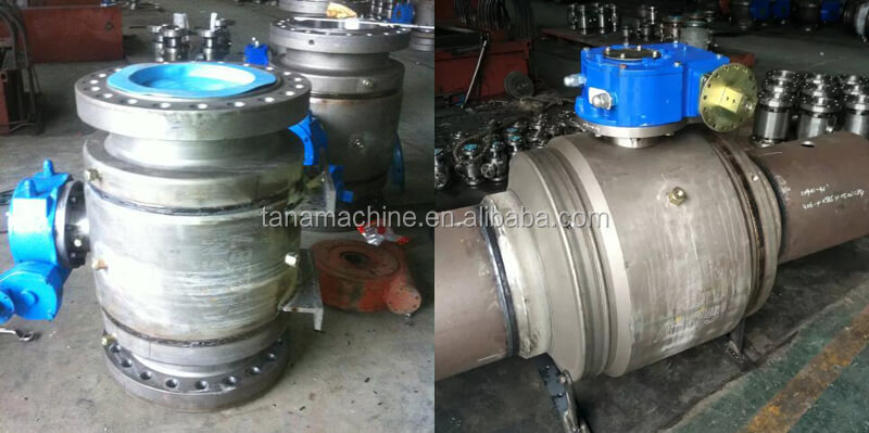 China supplier flange ends 24 inch Forged A105 API6D Full Welded Ball Valve
