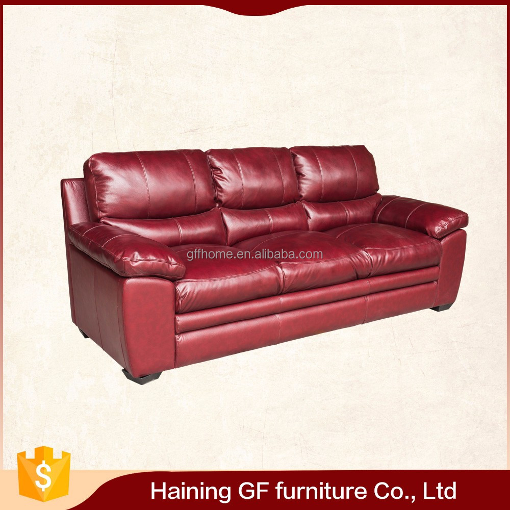Factory price wholesale furniture new model italy leather sofa