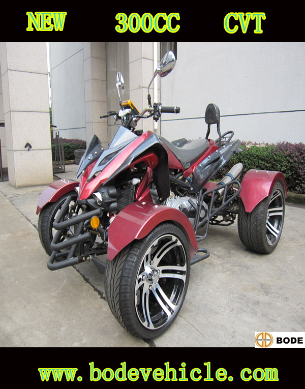 New 300cc ATV with CVT Transmission