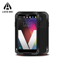 Love Mei Factory sale OEM design metal cell phone case waterproof case for LG V20 cover