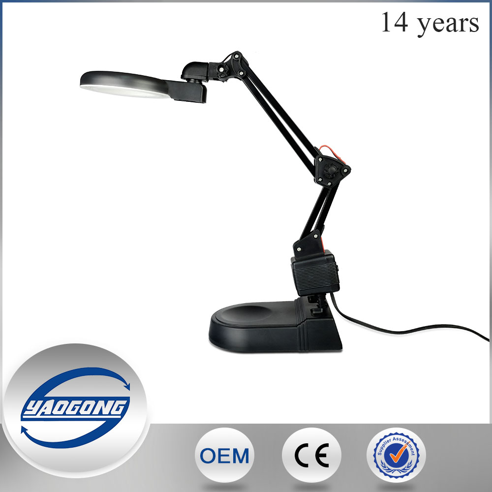 YAOGONG 138 LED light with glass magnifier
