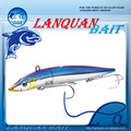 2016 NEW High quality japanese lead head lure minnow hard plastic fishing lure LQ1230