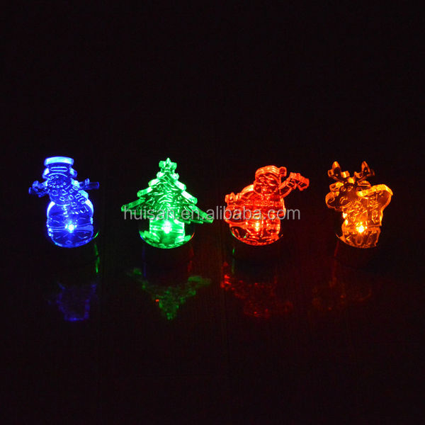 LED santa clause dcoration party dcoration gifts for kids