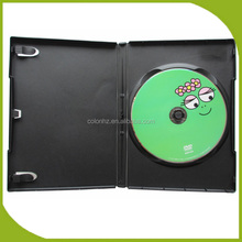 Custom cartoon DVD production with single dvd case