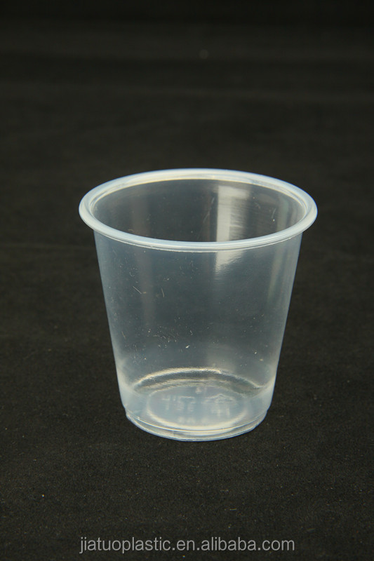 high quality plastic 115ml 3oz disposable plastic sauce cup with lid