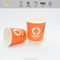 commercial company logo printed solar tube cup with high quality
