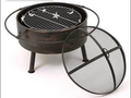 Beer bottle fire pit Manufacturer Outdoor Charcoal Cast iron firepit
