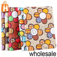 Wholesale Cute Sunflower Pattern Flip Stand Leather Case for iPad Mini Multi Colors