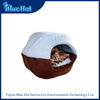 2016 newest promotional removable hamburger dog bed