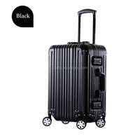 25 inch black red silver golden aluminum suitcase aluminum luggage aluminum trolley with super quality from Chongqing