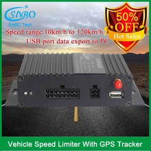 Mini overspeed alert and vehicle speed limiter car speed limiting device with gps tracking system