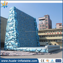 Adults games inflatable rock climbing wall with high quality