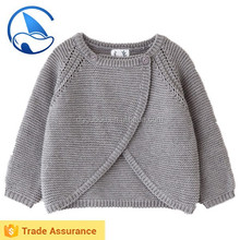 Light Grey baby sweater poncho design