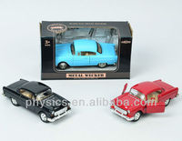 1 32scale diecast car/Classic mini metal car/antique vintage toy cars
