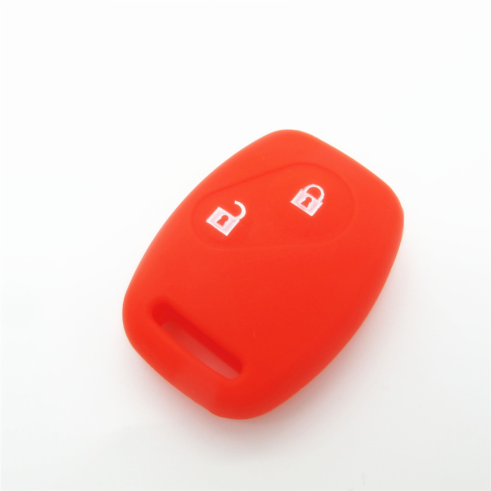 silicone skin fob shell 2 buttons , car keyless remote case shell made in china