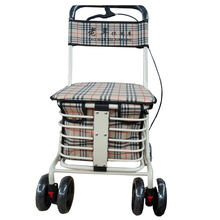 Safety Item low price handicapped equipment standard multi-function walker rollator