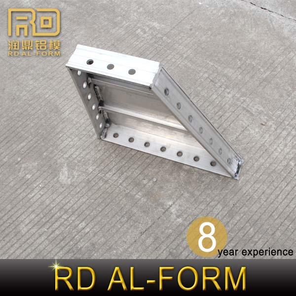 RD High Standard Aluminum Alloy Construction Profile Hardware Shop sell to Saudi Arabia