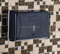 Plastic wall mount wet toilet paper dispenser