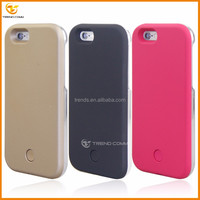 new fashion protective LED hard back cover case for iphone 6