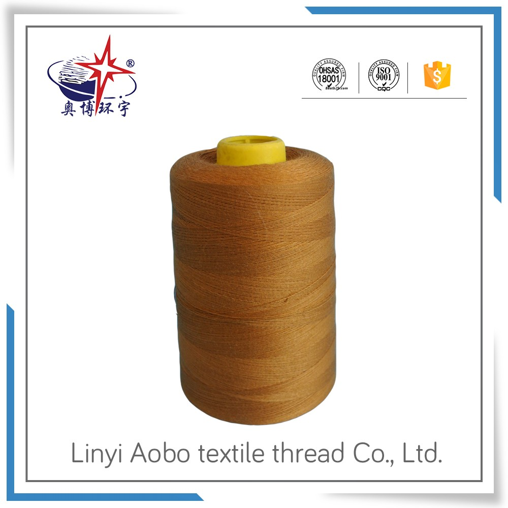 textile thread manufacturer pure polyester sewing thread 403