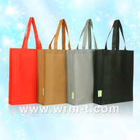 t-shirt designer shopping plastic non woven promotional tote bag with handle