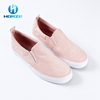 Custom Flat Sole Casual Printed Canvas Shoe Women Shoes Manufacturer In China