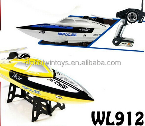 kids electric boat!WLtoys 912 cheap Propeller Rc Boats 2.4G 4ch rc water boat toy