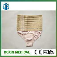 Lumbar Back Support Belt with Elastic Abdominal Binder