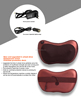 Portable Car neck Pillow Massager YC-501 with CE RoHS personal massager