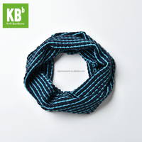 2016 New Customize Handmade 100% Acrylic Spotted Thick Fall Winter Warm Unisex Adult Men Women Teen Navy Knit Neck Warmer