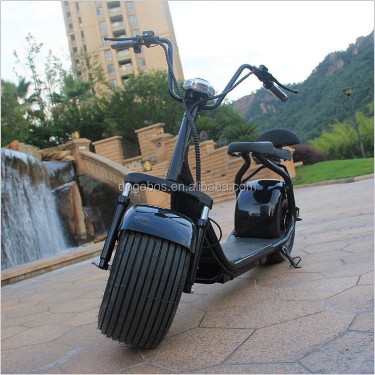 800W popular 2 seat fashion electric taizhou scooter parts