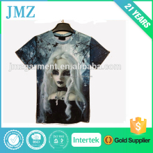 2015 fashion custom t-shirt 3D girl print t-shirt