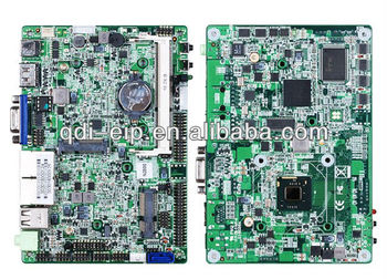 Low power Atom N2800 Dual-core 1.86GHz CPU Embedded PC Motherboard With 2 LAN VGA+HDMI+LVDS