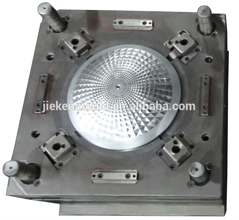 plastic injection molding led light led flood light mould making