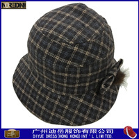Custom good quality lady bucket hat from China cap and hat manufacturer
