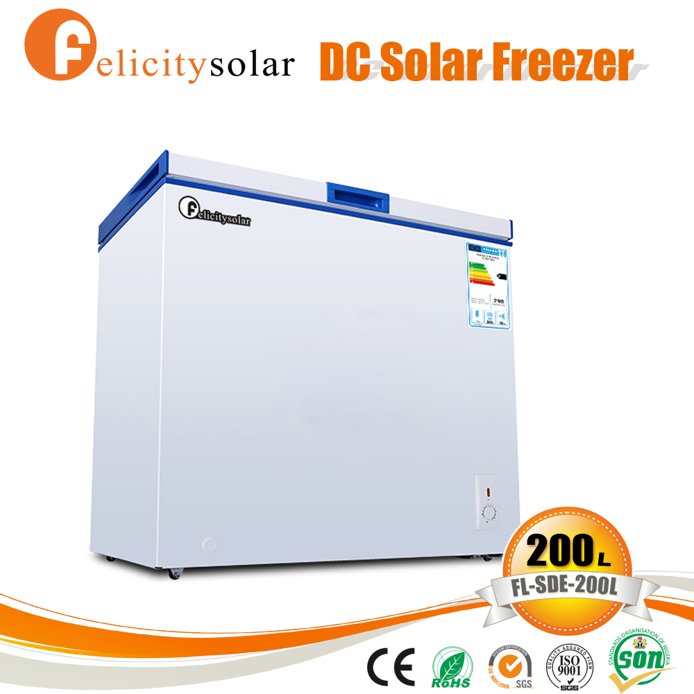 Electrical quality assurance solar power 12 volt freezer chest for Egypt