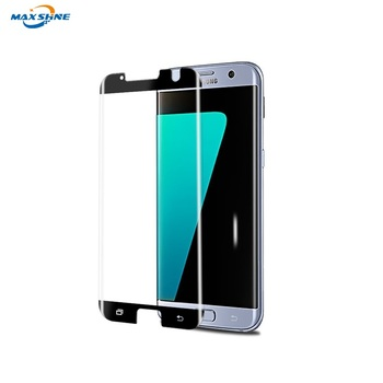 cell phone accessories S7 edge 3d screen protector Case friendly for samsung S8 S9 Note 8 S9 Plus 3D tempered glass