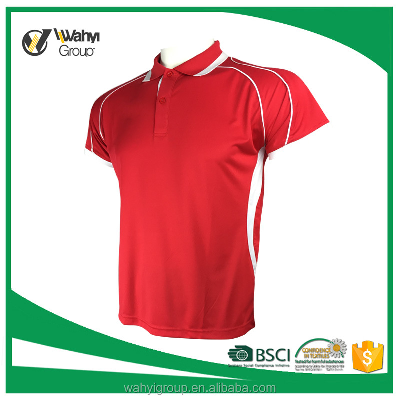 OEM Factory New Design Men Custom Sports Dry Fit POLO T Shirt